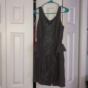 Super cute gray summer dress